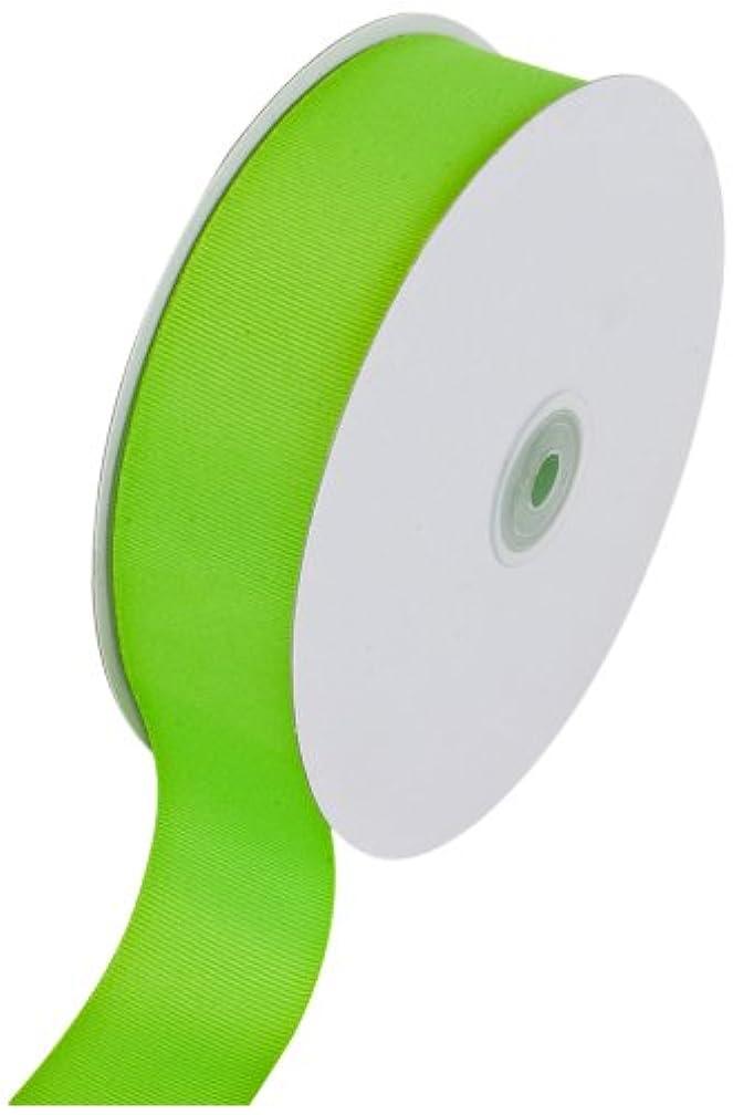 Creative Ideas Solid Grosgrain Ribbon, 1-1/2-Inch by 50-Yard, Apple Green