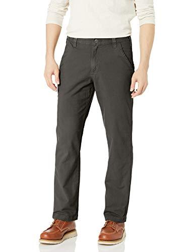 Carhartt Men's Rugged Flex Rigby Dungaree Pant, Peat, 30W X 30L