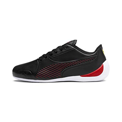 PUMA Ferrari Drift Cat 7S Ultra Youth Sneaker Puma Black-Rosso Corsa UK 3.5_Youth_FR 36
