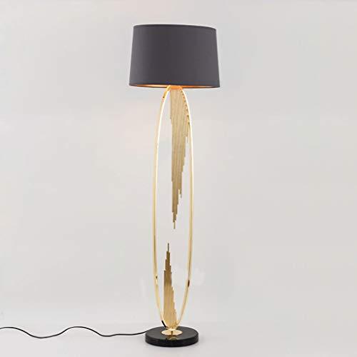lampadaire Lampadaire, Lampadaire En Marbre, Lampadaire Vertical, Abat-jour En Tissu Fait Main, Salon Canapé