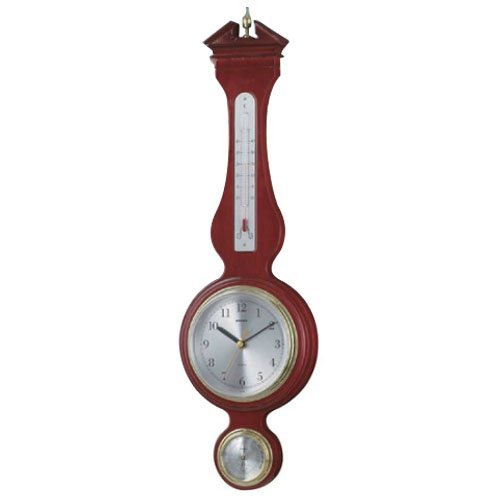 EMPEX (エンペックス) ウエストミンスター温度・湿度・時計 Super EX preseed TQ-708 ブラウン