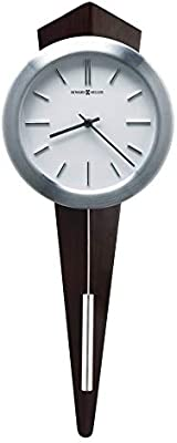 Howard Miller Daxton Wall Clock, Contemporary Modern, Statement Piece, with an Architectural Design