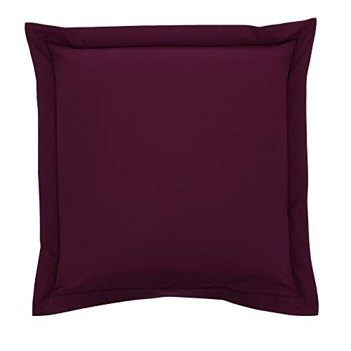 Drap House Taie d'oreiller Percale 65x65 Prune - Couleur: Prune