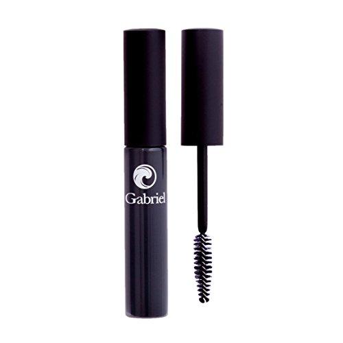Gabriel Cosmetics Mascara (Black),0.25 Fl Oz, Natural, Paraben Free, Vegan,Gluten free,Cruelty free,No GMO,Voluminous full lashes,Non flaky,Water resistant.
