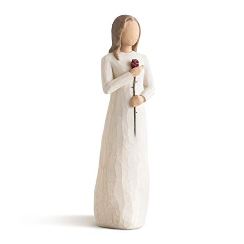 Willow Tree 26112 Figur Liebe, Kunstharz, natur, 3,8 x 3,8 x 22,9 cm
