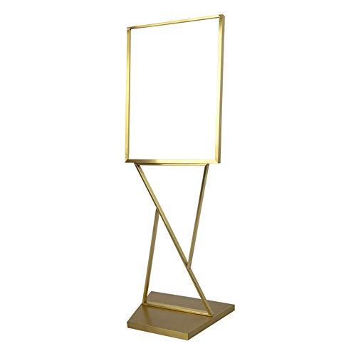 Publicidad del marco, pantalla KT bordo del soporte del marco del cartel vertical del piso cartelera soporte soporte de presentación de la plataforma de publicidad gráfica soporte de señales pop,B