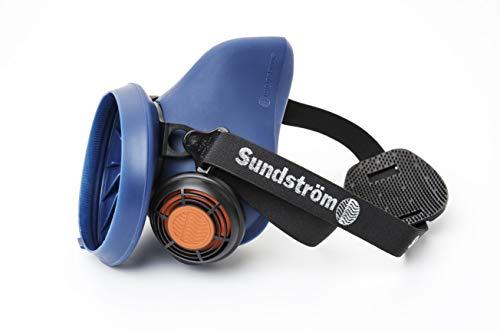 Sundström Safety AB Halbmaske Silikon SR 100, blau, S/M EN 140 Nr.