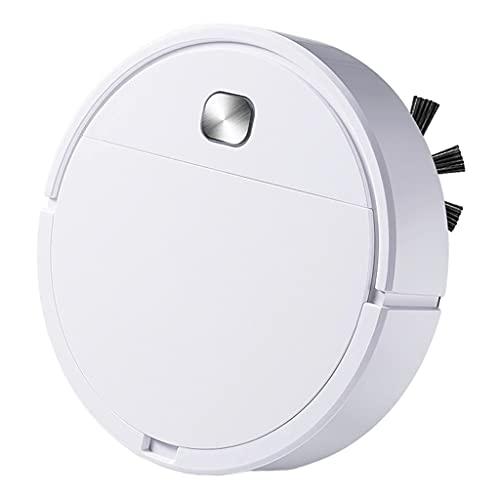 N/A/a Aspirador automático inalámbrico Robot, Carga USB de bajo Ruido, Receptor de Polvo Inteligente de Barrido de Suelo, Limpiador automático de Bordes