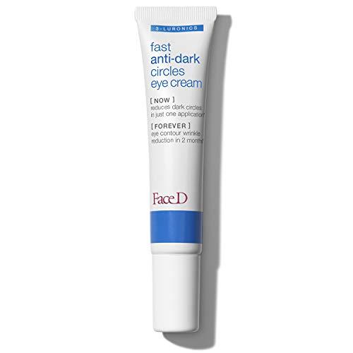 FaceD - Crema Contorno Occhi, Trattamento Anti-occhiaie, 15 ml