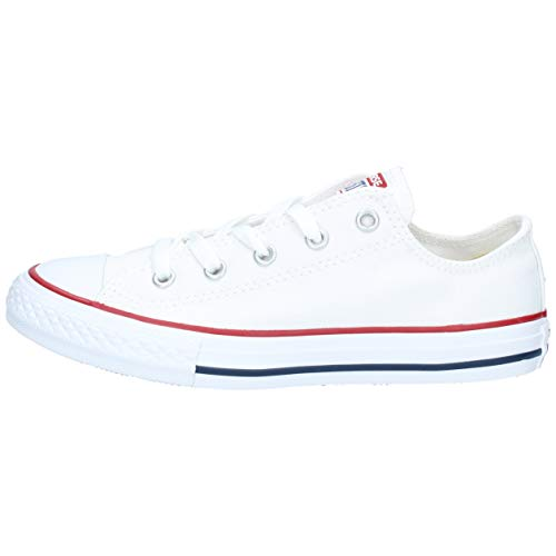 Converse Unisex-Kinder Chuck Taylor All Star Core Ox Low-Top, Weiß (Optical White), 29 EU