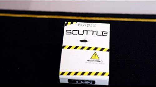 Scuttle (trucos e instrucciones en línea) por Vinny Sagoo | Truco | Cartas magia | Primer plano