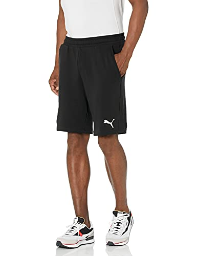 PUMA Men's Essentials 10' Shorts, Black/Cat, XXL