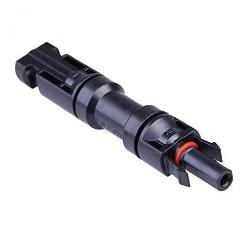 Angoter 1PCs MC4-Sicherung Stecker IP67 wasserdicht mit 15A Dioden-Stecker auf Buchse Verwenden PV Solarzellenpaneels