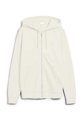 ARMEDANGELS ZAAC - Herren Sweatjacke aus Bio-Baumwolle XL Light Linen Sweat Jacke Regular fit