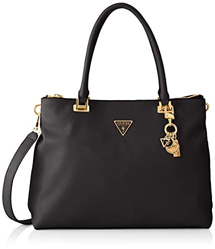 Guess Destiny Society Carryall, Bags Hobo Donna, Black, Taglia Unica
