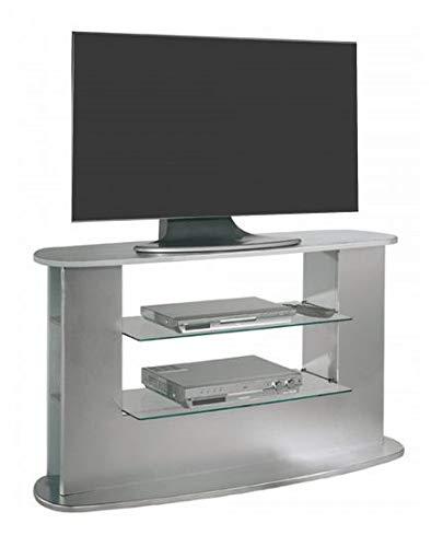 SZ Suarez Mesa Television Salon Mueble Auxiliar TV Color Gris Estilo Moderno contemporaneo 132x69x45