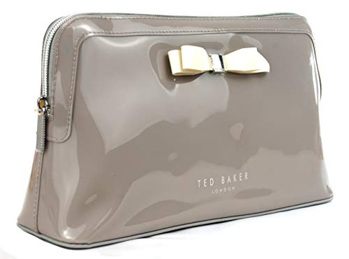 Ted Baker grote Womens Caffara Wash Bag Cosmetics tas toilettas in grijs