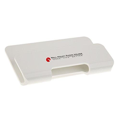 B Blesiya Mobile Phone Holder Foldable Device Holder, Universal for Mobile Phone, Tablet - White