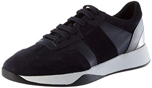 GEOX D SUZZIE B NAVY Womens Trainers Low-Top Trainers size 38(EU)