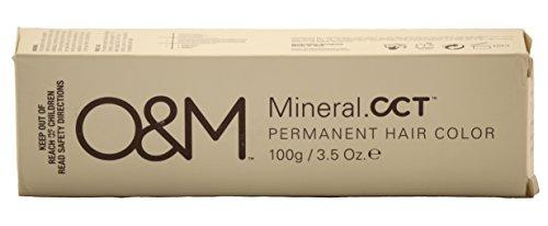 O&M Original Mineral CCT Permanent Hair Color 3.5 oz (8/11 Double Ash Light Blonde)