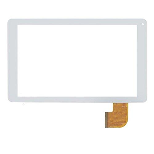 "Blanco EUTOPING ® De Nuevo 9 Pulgadas Reemplazar Pantalla tactil Digital para 9.0"" SPC Tablet 9760108P 9760108A Glee 9 2.1 HD Quad Core"