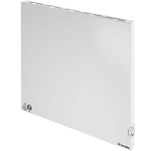 TecTake 800596 - Riscaldamento a Raggi Infrarossi, Pannello Radiante, Regolazione a Termostato - modelli differenti (600 W | No. 402978)