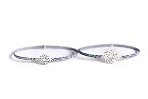 iz-el Mutter Tochter Armband 925 silber Geschenk