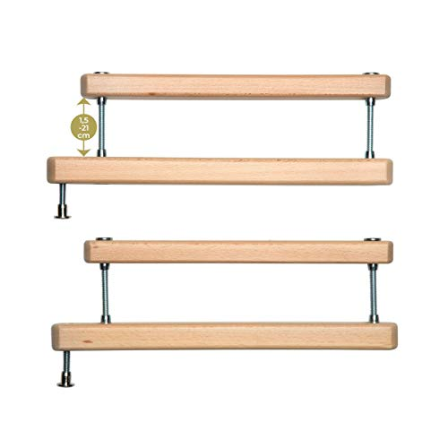 Geuther Zusatzklemmen2725ZK+ - Zusatzklemme für Treppenschutzgitter, in Natur