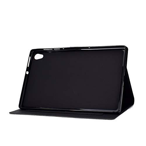 AsWant Hülle für Lenovo Tab M10 HD 2 Gen Brieftasche Flip Case Stand Funktion Schutzhülle Magnetische Tablet Hülle für Lenovo Tab M10 10,1 Zoll 2 Generation TB-X306X/TB-X306F - Katze & Tiger