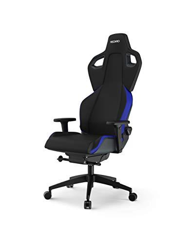 RECARO Exo Gaming Chair | Ergonomischer, atmungsaktiver Gaming-Stuhl mit Feinjustierung - Designed & Made in Germany - Racing Blue