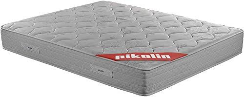 PIKOLIN Colchón de muelles avanzados Normablock Confort viscoelástico 150x190, firmeza Media, Altura 25 cm
