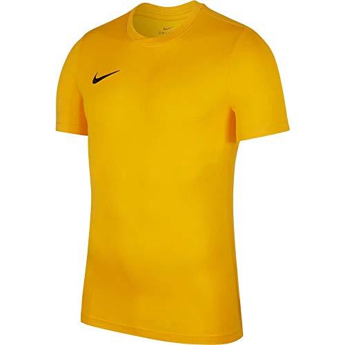 Nike Park VI Camiseta de Manga Corta para hombre, Dorado (University Dorado/Black), S