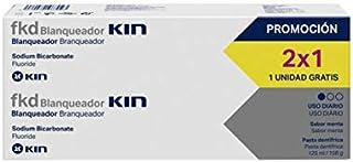 KIN fkd Pasta de Dientes Blanqueadora Pack 2x1   Pasta Dentífrica Sabor Menta - 125 ml x 2