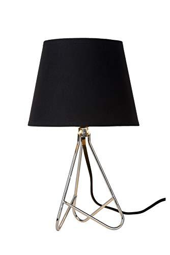 Lucide GITTA - Tischlampe - Ø 17 cm - 1xE14 - Chrom