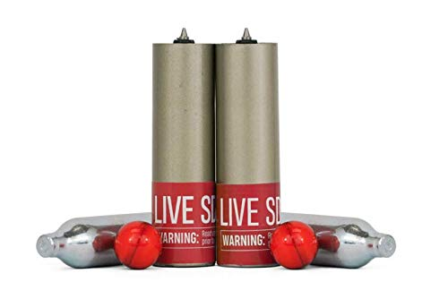 PepperBall Live SD Refill Kit for Compact Launcher Includes Live Barrel and N2 Cartridges