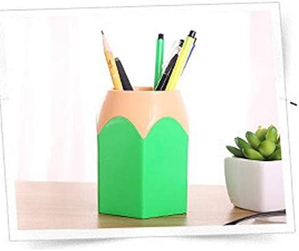 Creative Pen Vase Pencil Pot Pen Holder Stationery Desk Tidy Container