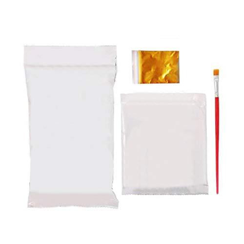 thorityau - Kit de fundición para bebé, diseño de huellas de yeso,...