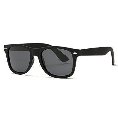 kimorn Polarizado Gafas De Sol Clásico Unisexo Cuerno Rimmed Años 80 Retro AE0300 a buen precio