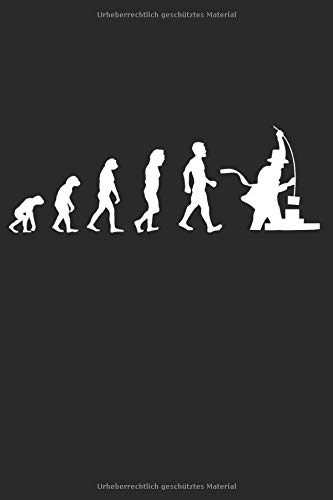 Evolution Kaminkehrer: Handwerker Geschenke für Männer & Frauen: Notizbuch DIN A5 I Dotted Punkteraster I 120 Seiten I Geschenkidee Schornsteinfeger ... Schornstein Kaminfeger Glücksbringer