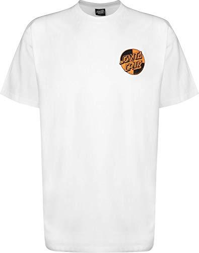 Herren T-Shirt Crash Dot White, x-Large