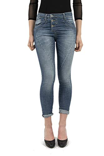 Please Damen Jeanshose Gr. Small, blau