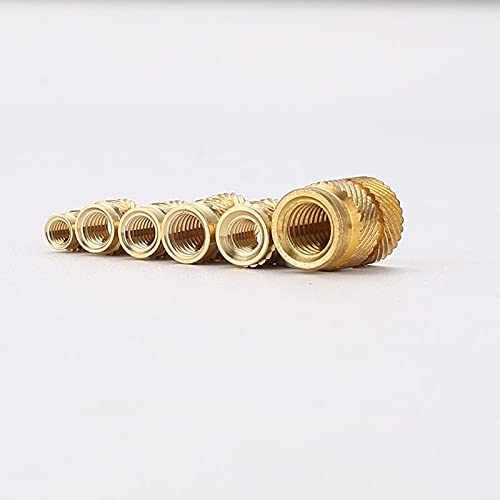 LWCHJ New life Brass Hot Melt Inset Nuts Copper Heating Financial sales sale Molding Thread In