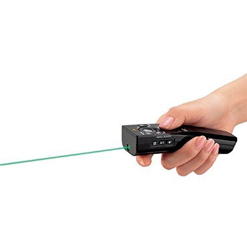 コクヨ緑色レーザーポインターマウス機能付UD形状ELA-MGU91