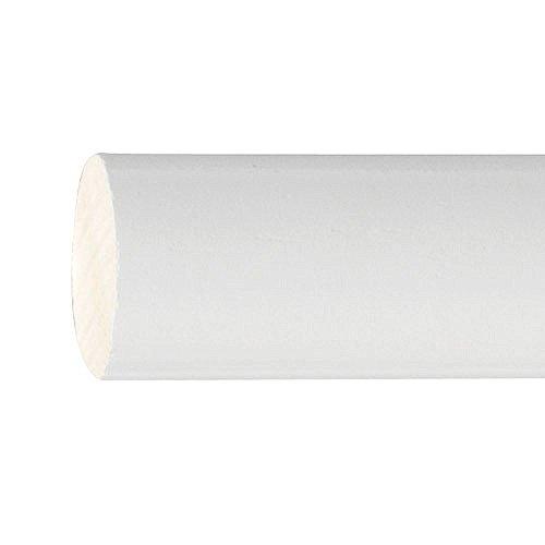 Riel Chyc 5430460 Barra Madera Lisa 1,5 Metros x 20 mm. Blanco