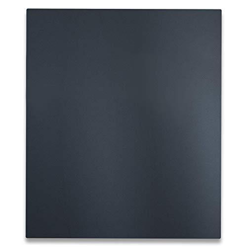 Metzler Briefkasten in Anthrazit - Wandbriefkasten mit Zeitungsfach - 100% UV- und witterungsbeständig - Briefkasten in RAL 7016 - Türanschlag wählbar - Größe: 35,5 x 43,5 x 10 cm