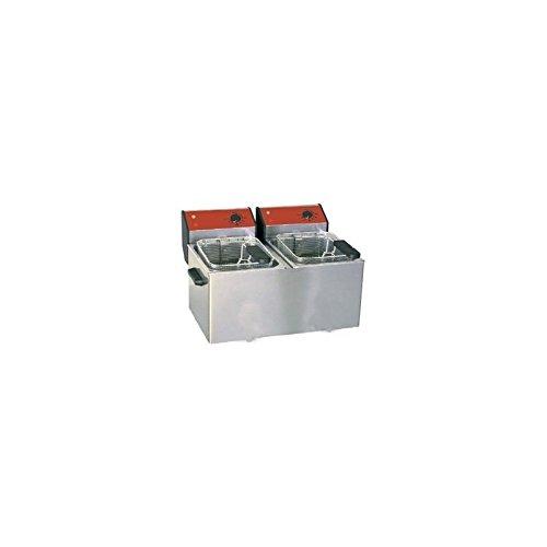 Friggitrice di bancone 2x 5L da tavolo elettrico