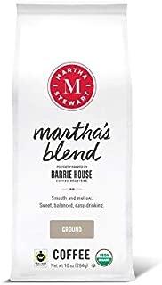 Martha Stewart Coffee Martha's Blend by Barrie House - Ground Coffee 10 oz bag