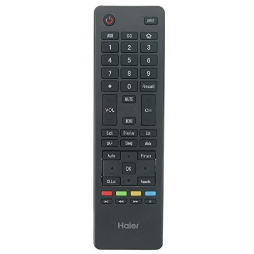 NiceTQ Replacement Remote Control Controller for Haier 4K Ultra HD Slim TV 65UGX3500 75UGX3550 55UGX3500