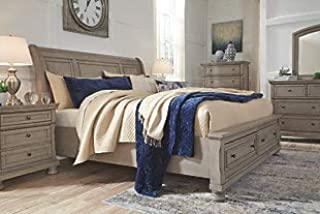 Amazing Buys Lettner Bedroom Set by Ashley Furniture - Includes Queen Bed, Dresser and Mirror
