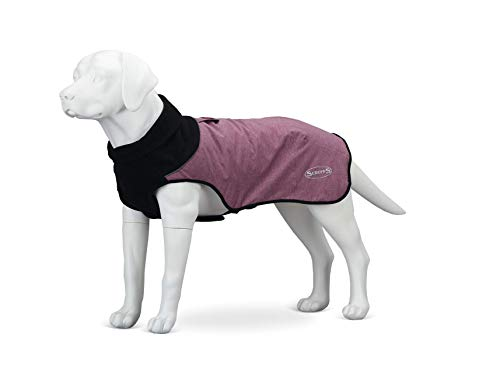 Scruffs Gesteppter Thermo-Hundemantel, 30 cm, XS, Cajun Purple, 150 g